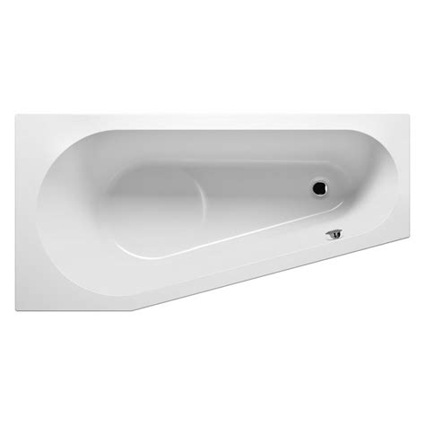 baignoire acrylique baignoire d angle acrylique riho delta 150x80 cm maison