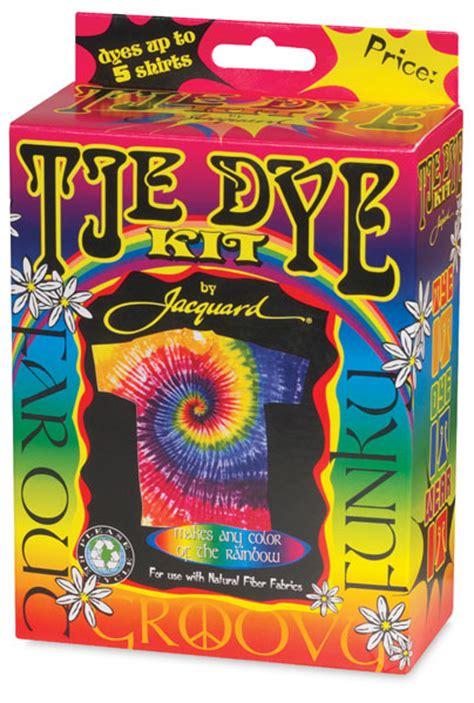 jacquard funky groovy procion tie dye kit blick