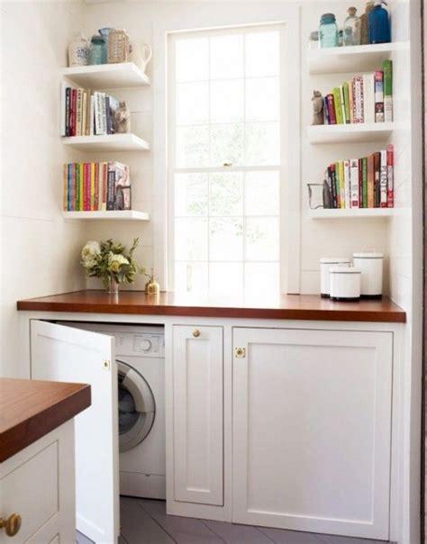 creative ways  hide  washing machine   home digsdigs