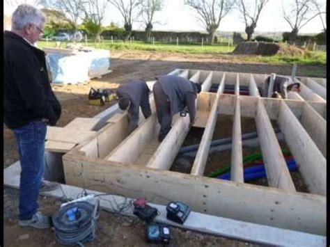 faire une dalle beton exterieur 4225 montage d une dalle bois