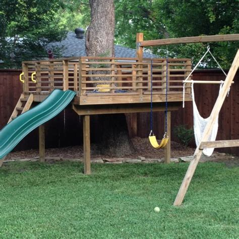 tree house swing sets tree house swing set dallas tx backyard ideas