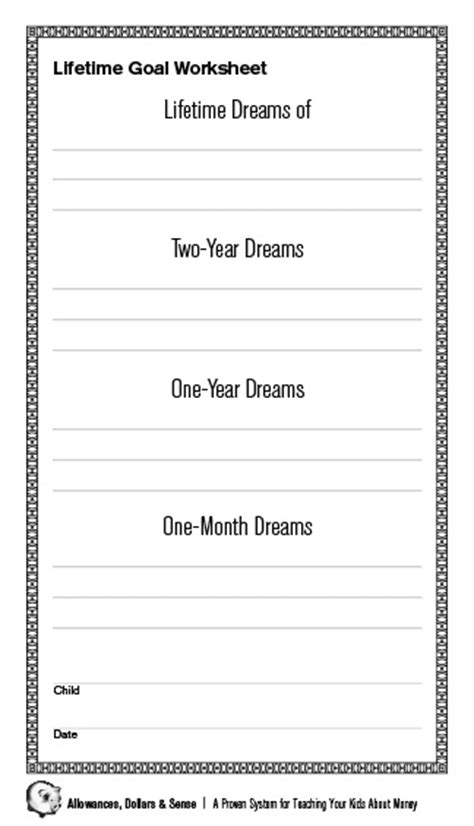 soccer goal setting worksheet 17 best images of family goals worksheet goal setting worksheet exles smart goal setting