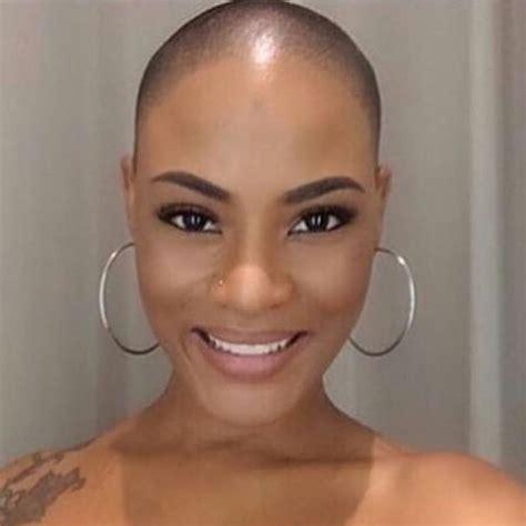 beautiful black women bald haircuts offtherunwayyy bald beautiful pinterest short