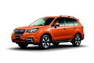 Subaru Forester 2017 2017 Subaru Forester Facelift Revealed Ahead Of Tokyo