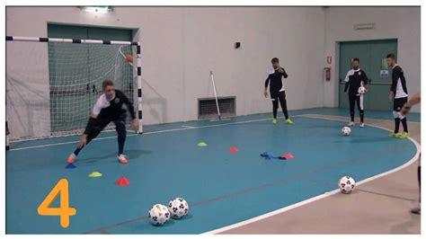 esercizi portiere calcio a 5 allenamento dei portieri calcio a 5 pt 1
