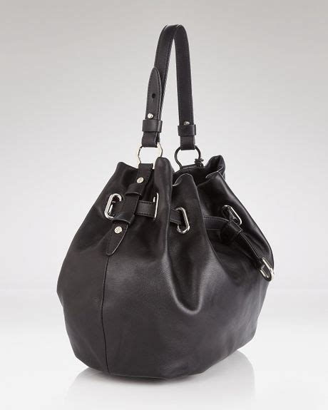 Cole Haan Drawstring Hobo Bag by Cole Haan Hobo Cornelia Ellie Large Drawstring In Black Lyst