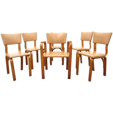michael thonet birch bentwood dining chairs captain