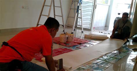 pasang wallpaper shah alam lucky tulip dah cat tak menjadi wallpaper la pulak