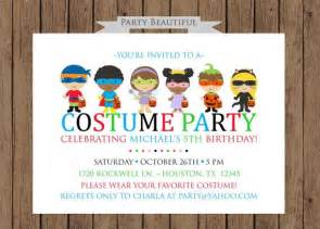 costume birthday invitation boys printable on etsy 14 00 par