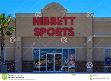 Hibbett Sports Gift Card - hibbett sports store editorial photo image 86405361
