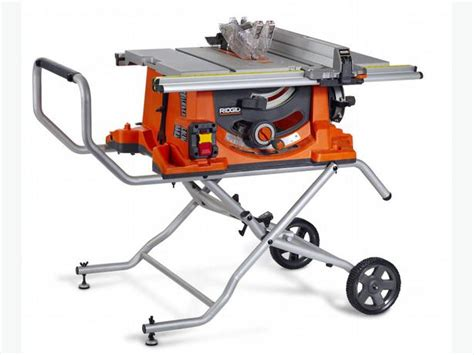 Ridgid Portable Table Saw by Ridgid R4513 Portable Table Saw Oak Bay