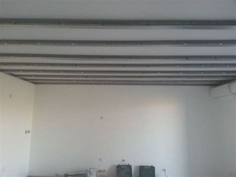 Pose Placo Plafond Renovation by R 233 Alisation D Un Faux Plafond En Placo Ba 13 Pos 233 Sur