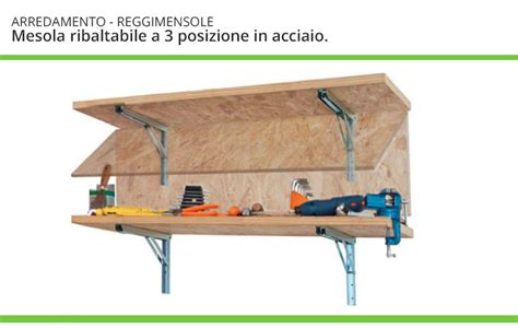 mensola a ribalta reggi mensole ribaltabili regolabili ferramenta mobili