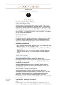 research analyst resume sles visualcv resume sles