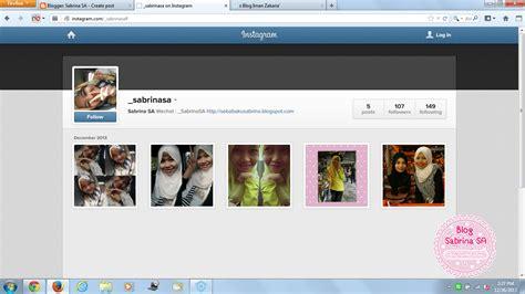 tutorial letak instagram dekat blog sabrina sa tutorial letak widget instagram dalam blog 2 cara