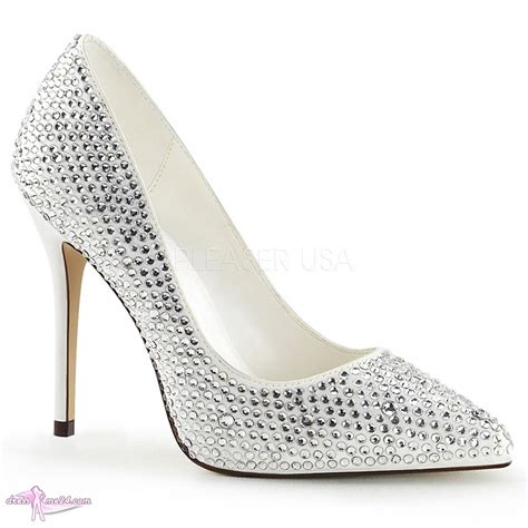 strass pumps amuse 20rs wei 223 shoes pumps high heels