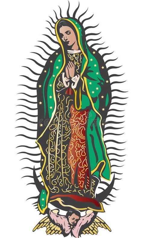 imagenes virgen de guadalupe niña mexican virgin of guadalupe color vector royalty free