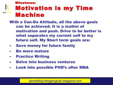 Term Goals After Mba by Sychingping 20 Year Marketing Plan