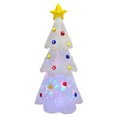 Winter Garden Bike Shop - new 6ft inflatable disco light up christmas tree indoor outdoor decoration ebay