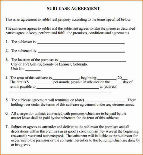simple commercial lease agreement commercial lease