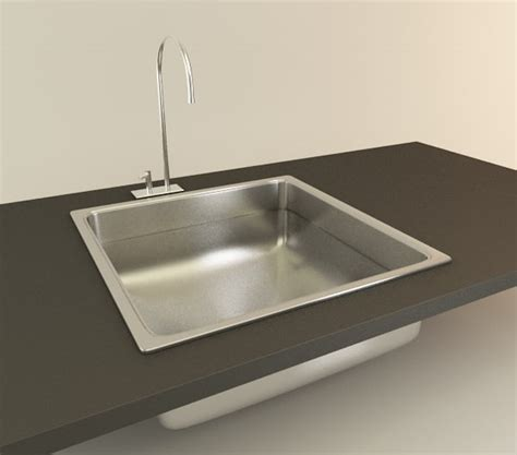 Kitchen Sink Model Kitchen Sink 3d Model