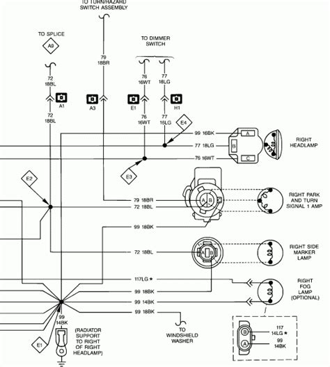 headlight and light wiring diagrams wiring diagrams
