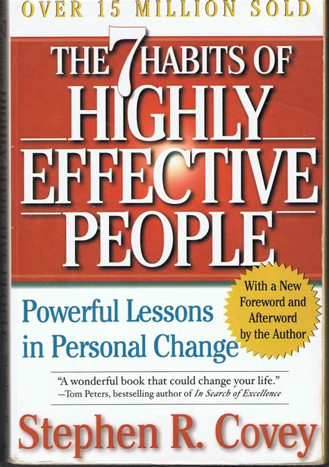 The 7 Habits Of Highly Effective By Stephen Rcovey five books that changed my business