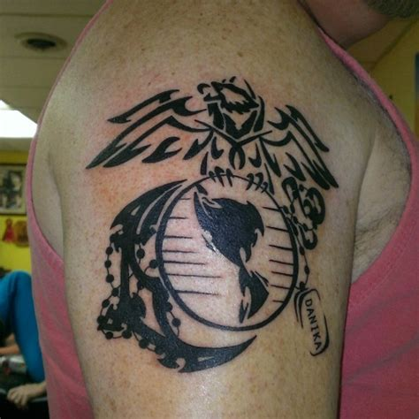 usmc tribal tattoos usmc tattoos designs ideas and meaning tattoos for you