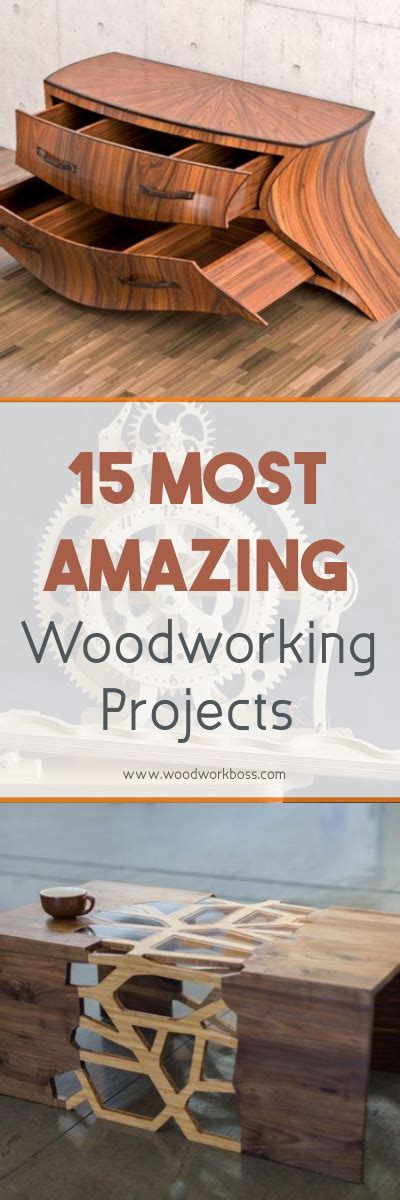 most popular woodworking projects 15 most amazing woodworking projects