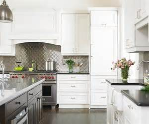 Aluminum Kitchen Backsplash by Metal Backsplash