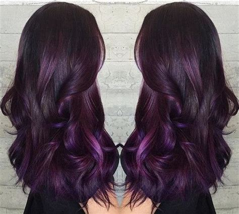 Jepit Rambut Ombre Hair Extension Eggplant Purple 1459 best images about hair cuts color on