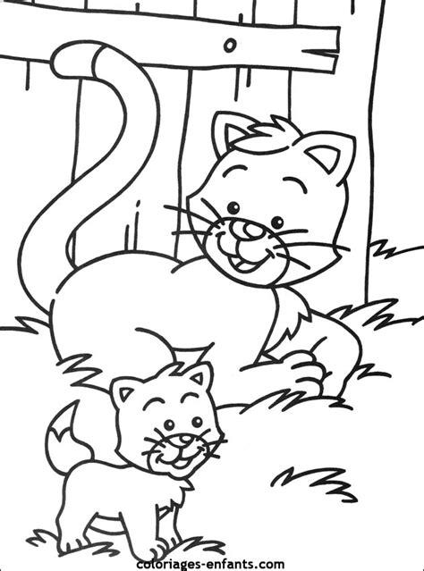coloriage de chaton a imprimer az coloriage 260 dessins de coloriage chat 224 imprimer sur laguerche com