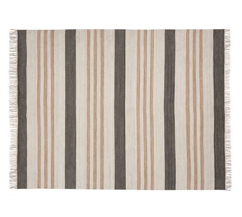 Stinson Synthetic Indoor Outdoor Rug Gray Multi Pottery Barn Indoor Outdoor Rug