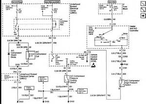 2000 chevrolet silverado air conditioning diagram auto autos post