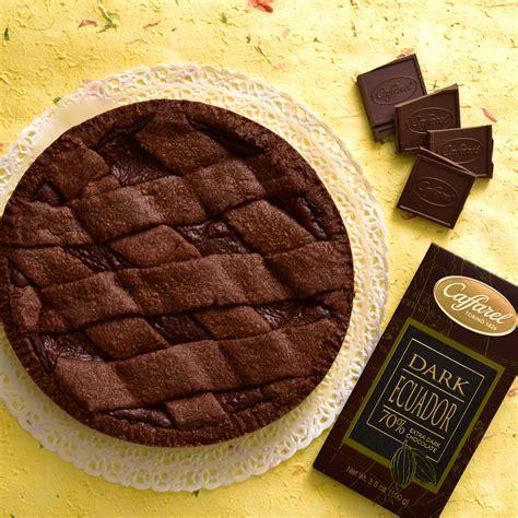 Cioccolato Chocolate crostata al cioccolato le ricette caffarel