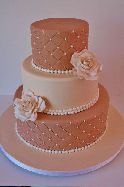 Custom Wedding Cake Designs by Wedding Cakes Ny Neutral Shades Custom Cakes