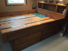 King Size Bed Frame And Dresser California King Size Waterbed Frame With Large Dresser