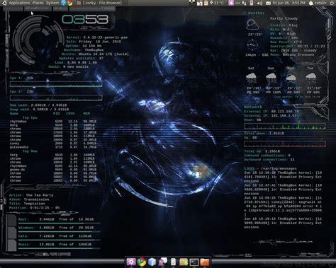 conky themes kali linux mescheryakovinokentiy conky download