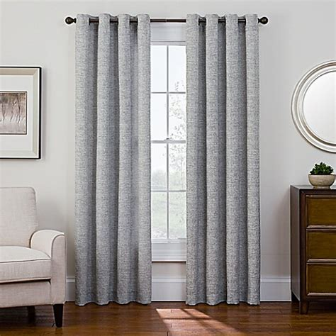 curtain snaps sharper image 174 bradford grommet top snap in window curtain