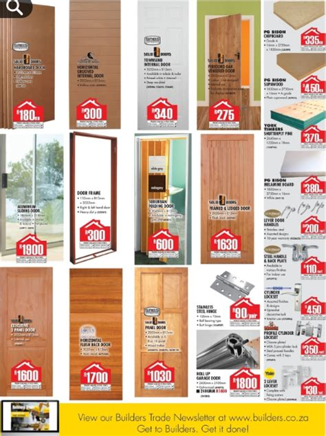 collection builders warehouse doors prices pictures