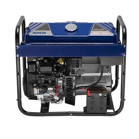 kohler 12 300 watt gasoline powered electric start