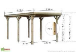 Superior Carport Bois Pas Cher #6: Carport-bois-etna-uno-autoclave-cl-3-_5_1x3x2_44_plan.jpg