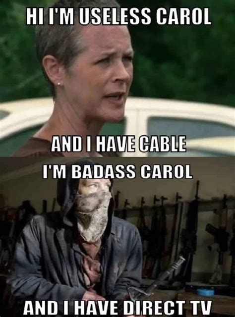 Carol Meme Walking Dead - dont be like that carol the walking dead pinterest