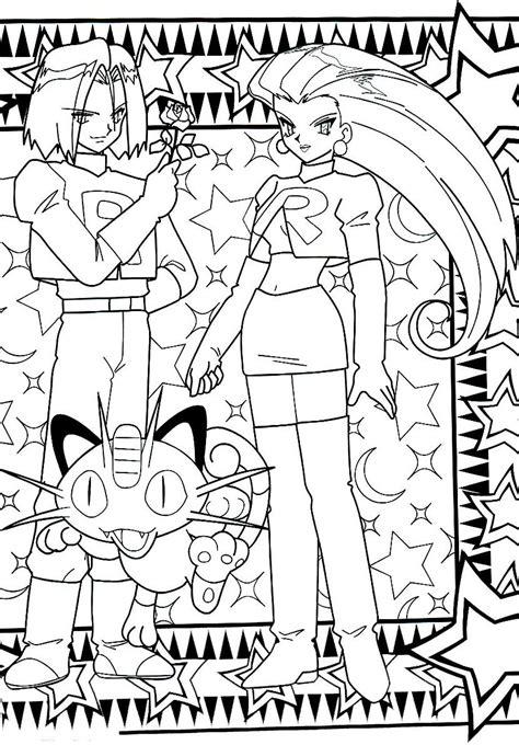 pokemon coloring pages team rocket teamrocket pokemon coloringpage disney coloring pages