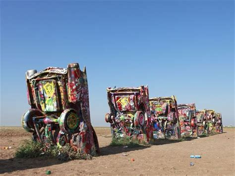 Cadillac Ranch Illinois by Self Drive Route 66 15 Fly Drive Tour American Sky