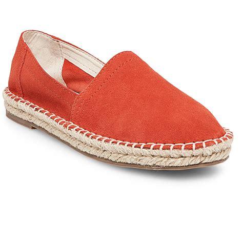 espadrille flat shoes s soho cobbler lemon wide width suede espadrille