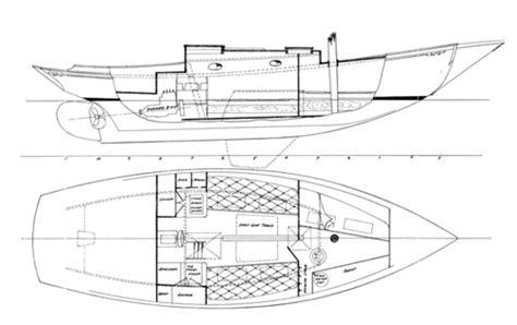 wooden boat keel design alden 30 keel centerboard sloop woodenboat magazine
