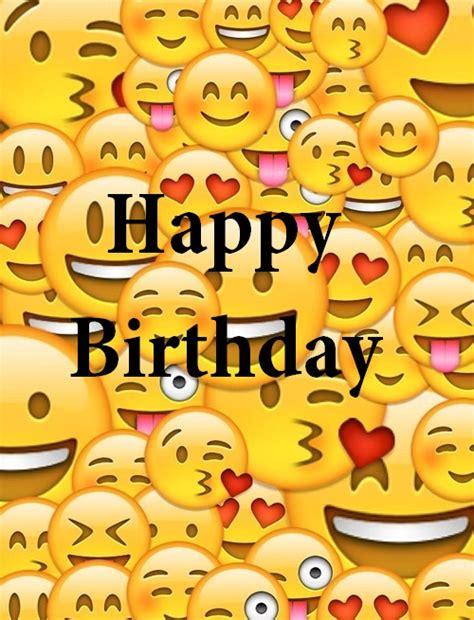 emoji birthday happy birthday wishes with emoji