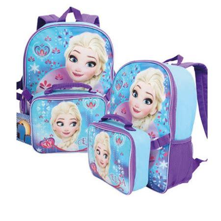 Lunch Box Frozen disney frozen elsa backpack with lunch box walmart