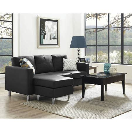 Small Spaces Configurable Sectional Sofa Dorel Living Small Spaces Configurable Sectional Sofa Colors Walmart